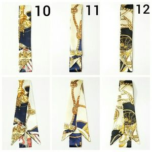 New! 2pc Any Design From 10 to 12 Satin Twilly